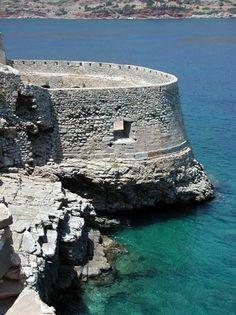 Spinalonga Crete Greece