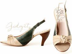 Gidget Loves these Pekoe open toe slingbacks from John Fluevog