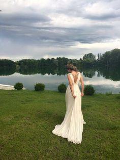Eralda wearing the Luciana gown #JennyPackhambride www.jennypackham.com
