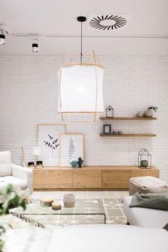 Easy Tips Scandinavian Design & Decor Living Room Tv, Home And Living, Muebles Living, Home Salon, Cuisines Design, Interior Design Inspiration, Living Room Designs, House Design, House Styles