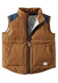 Carters  Colorblock Puffer Vest