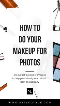 5 #Makeup Techniques To Help You Look More Photogenic | Whether you're part of a #wedding or having a #photoshoot, it's important to apply appropriate makeup techniques when using flash photography. Otherwise, you run the risk of having flashback (the white cast you can get in photos) and a handful of other types of makeup faux-pas. Click through to see the top 5 ways you can make your makeup look its absolute best in every upcoming photo you take! | #beautytips #makeuptips