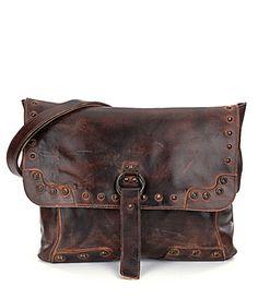 Bed Stu Thames Leather Flap CrossBody Bag #Dillards