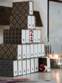 matchbox advent calendar.