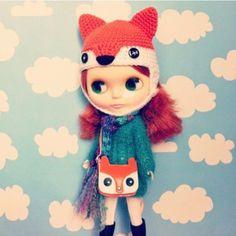 Adorable foxy accessories! (etsy)