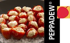 Stuffed Peppadew® with Alouette Soft Cheese