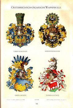 Österreichisch Ungarische Wappenrolle 1890, Hugo Gerhard Ströhl, page 7.