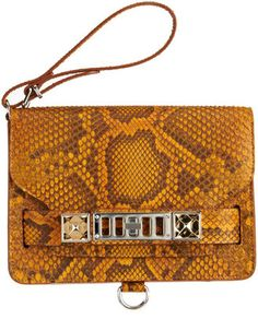 ShopStyle: Proenza Schouler PS11 Clutch Python <--- YES, YES, YES (when I have the $$$)