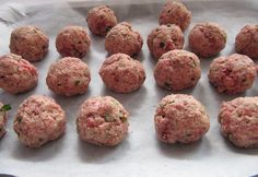 Italian Meatballs,  In large bowl, combine 1/2 cup milk & 1 cup bread crumbs  Let rest 10 minutes  Mix in: 1.5 # (750g) extra lean ground beef ( I use 1/2 pork and 1/2 beef) 1 beaten egg 1 Tbsp Sunset Gourmet Spinach & Herb Mix 1 Tbsp Sunset Gourmet Traditional Italian Season 1 tsp salt 1/2 tsp pepper 1/2 c Parmesan cheese grated 1 /2 small onion diced 1 Tbsp Sunset Gourmet Oh! So Garlic   Shape into balls. Heat 1 Tbsp oil in fry pan, brown and bake at 350F for about 20 minutes or until…