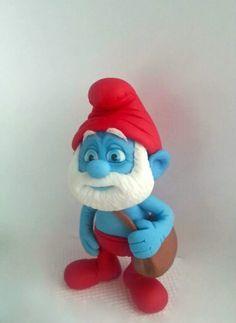 Papa Smurf Topper