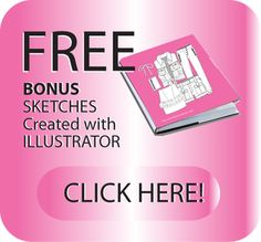 My Latest for Ladies apparel! Get your FREE BONUS Fashion sketches Download : http://www.illustratorfashiontemplate.com/