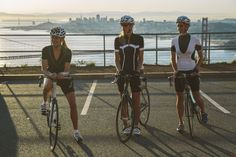 Women's cycling clothes: The Wrapture, The Corset, The Hourglass
