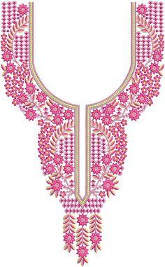 Embroidery Designs Online, Machine Embroidery Designs, Salwar Neck Designs, Crochet Necklace, Casual, Drawing Drawing, Machine Embroidery