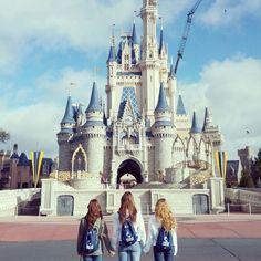 Go to Disney with my best friends