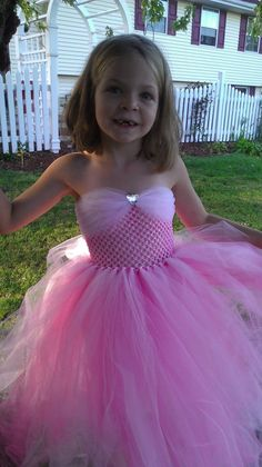 Sleeping Beauty tutu dress for the girls. Add tulle straps. (love the tulle sweetheart neck, makes it more modest for older girls)