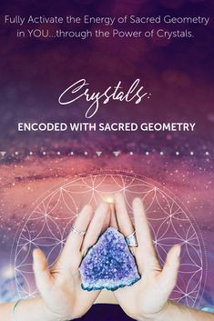 You're here because you KNOW you're ready to realize your soul's purpose, full potential & connection to the Universe/Multiverse. This cutting-edge online elective style course allows you to fully explore crystals + sacred geometry as a vehicle to realize your soul's true potential & intention. #crystals #sacredgeometry