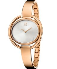 CALVIN KLEIN Impetuos Rose Gold Stainless Steel Bracelet