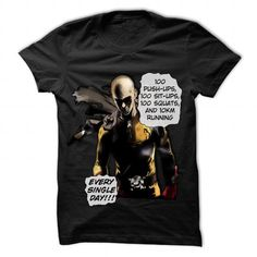 One Punch Man Workouts - #teacher gift #bridal gift. LIMITED TIME  => https://www.sunfrog.com/Fitness/One-Punch-Man-Workouts.html?id=60505