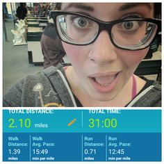 W2D2 - my face when the pacing on my app works and all my morning knee/ankle soreness disappears #C25K #everymomentcounts #running #run #health #fitness #GetRunning #workout #5k