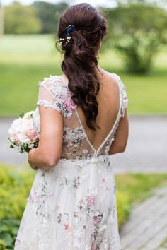 alternative floral wedding dress ireland Weeding Dresses, Flower Girl Dresses, Floral Wedding, Wedding Day, First Dance, Amazing Cakes, Groomsmen, Ireland, Alternative