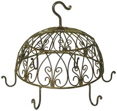 A Decorative Hooks 6 Round * Check this useful article by going to the link at the image. #GardenDecor