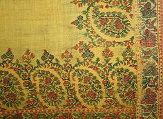 Shawl Date: 1800–1820 Culture: Indian Medium: wool, silk Dimensions: [no dimensions available] Credit Line: Gift of Mr. Lee Simonson, 1939 A...