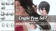 Couple Poses Set 7 at ConceptDesign97