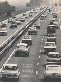1971 The Netherlands  VW, DAF, Citroén, Mini, Mercedes, Peugeot
