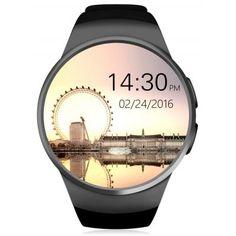 KingWear KW18 1.3 inch Smartwatch Phone - https://www.mycoolnerd.com/listing/kingwear-kw18-1-3-inch-smartwatch-phone/