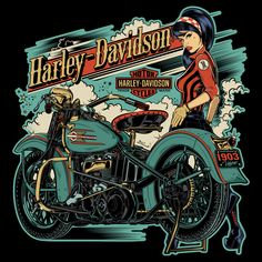 New Motorcycle Drawing Artworks Harley Davidson Ideas Harley Davidson Chopper, Harley Davidson Shirts, Harley Davidson Posters, Harley Davidson Kunst, Harley Davidson Tattoos, Harley Davidson Wallpaper, Classic Harley Davidson, Harley Davidson Motorcycles, Triumph Motorcycles