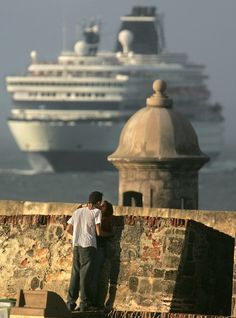 San Juan, Puerto Rico.  Another cruise stop and a beautiful island.  Lots of night action.