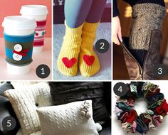 Tip Tuesday: 5 Cozy DIY's with Sweaters