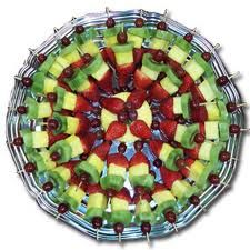 fruit kabobs - Google Search