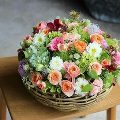 most beautiful container gardening flowers ideas for your home front porch 4 Beautiful Flower Arrangements, Fresh Flowers, Spring Flowers, Floral Arrangements, Beautiful Flowers, Deco Floral, Arte Floral, Floral Design, Flower Boxes
