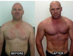 Antes y despues #gym #pesas #fisico