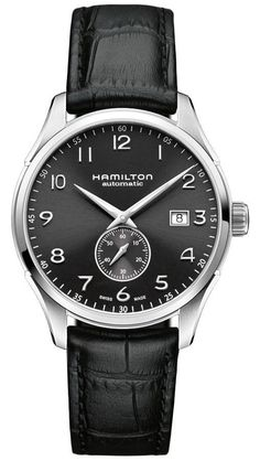 @hamiltonwfan Watch Jazzmaster Maestro Small Second #bezel-fixed #bracelet-strap-leather #brand-hamilton #case-material-steel #case-width-40mm #date-yes #delivery-timescale-call-us #dial-colour-black #gender-mens #limited-code #luxury #movement-automatic #official-stockist-for-hamilton-watches #packaging-hamilton-watch-packaging #style-dress #subcat-jazzmaster #supplier-model-no-h42515735 #warranty-hamilton-official-2-year-guarantee #water-resistant-50m