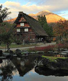 Shirakawa-go, Japan (Travel & Leisure's list of the World's prettiest mountain towns)