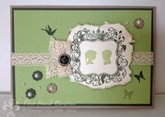 Stampin' UP! Galante Grüsse Forever Young by First Hand Emotion
