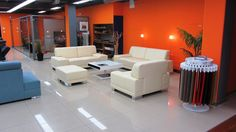 Fotogalerie - Showroom Brno - Sofaland Showroom, Conference Room, Couch, Table, Furniture, Home Decor, Sofa, Meeting Rooms, Sofas