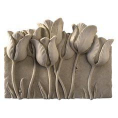 Tulip Garden Wall Plaque - 1201