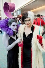 Yzma and Cruella devil Costume