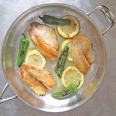Pan Sauteed Tilapia with Lemon and Jalapeno - Recipes from: Foodily