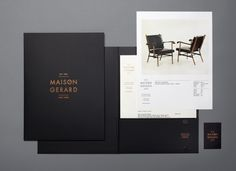 Promotional Mailer for Maison Gerard http://maisongerard.tumblr.com/