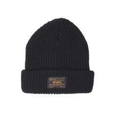 Essential knit Beanie 02 from Wtaps.