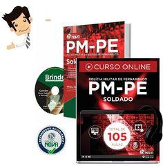 Conquiste sua Aprovação no Concurso da Polícia Militar do Estado de Pernambuco 2016, para o Cargo de Soldado Policial Militar, adquirindo nossa Apostila ou Curso online preparatórios do certame.