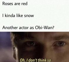 Please give us our Obi-Wan Star Wars movie now - Star Wars Funny - Funny Star Wars Meme - - Please give us our Obi-Wan Star Wars movie now! The post Please give us our Obi-Wan Star Wars movie now appeared first on Gag Dad. New Memes, Funny Memes, Hilarious, Memes Humor, Stupid Funny, Funny Pics, Funny Pictures, Star Wars Film, Kit Fisto