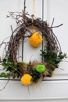 krans-krans Du er på rett sted om jul krans diy Her tilbyr vi deg … Grapevine Wreath, Most Beautiful Pictures, Easter Eggs, Diy And Crafts, Projects To Try, Presents, Wreaths, Decor, Massage