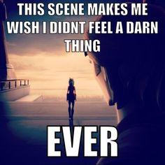 Wish I didn't feel a darn thing. Ahsoka Tano. Anakin Skywalker. Starwars clone wars