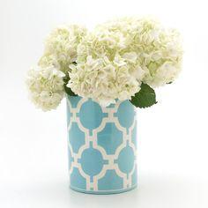 Utensil Vase in  Hampton LInks Papago colorway by jillrosenwald, $144.00