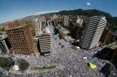Marcha de hoy en #Caracas 22/3